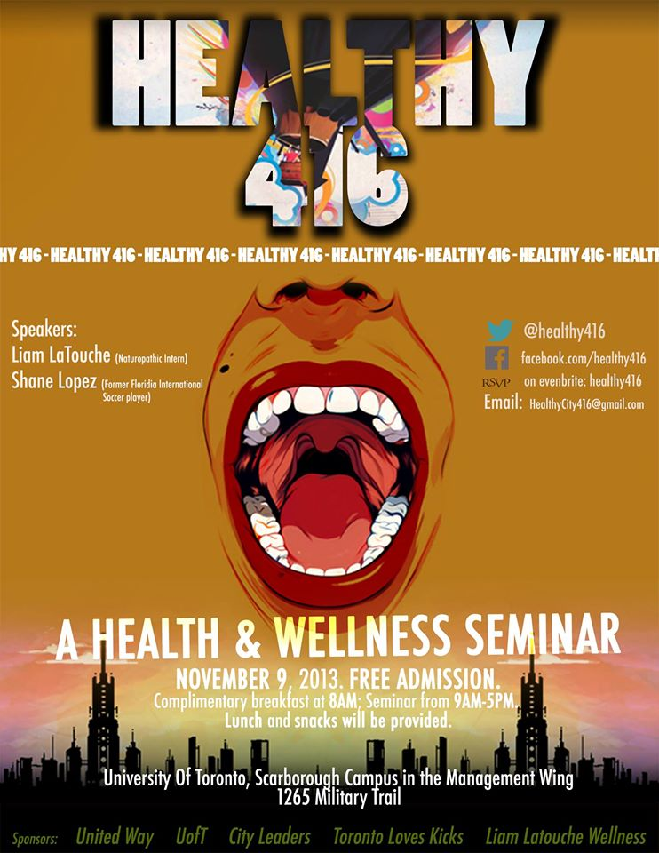 healthy416 poster